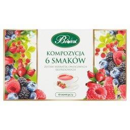 Zestaw herbatek owocowych ekspresowych kompozycja 6 ...