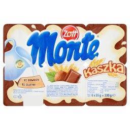 Monte Kaszka Deser mleczny 330 g (6 sztuk)