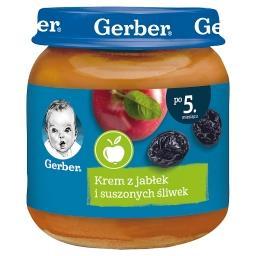 Krem z jabłek i suszonych śliwek dla niemowląt po 5....