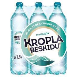 Naturalna woda mineralna musująca 6 x 1,5l