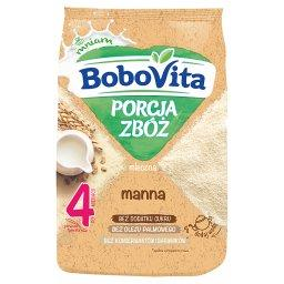 Porcja zbóż Kaszka mleczna manna po 4 miesiącu