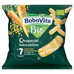 Bio Chrupeczki kukurydziane delikatnie marchewkowe p...