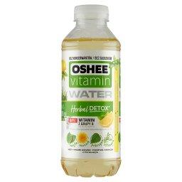 Vitamin Water Herbal Detox Napój niegazowany o smaku cytryny z miętą