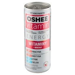 Vitamin Energy Napój gazowany o smaku pomarańczowym