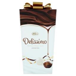 Delissimo Praliny nadziewane kremem mlecznym i kakaowym