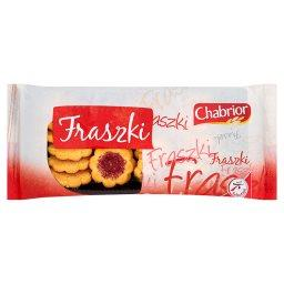 Fraszki Ciastka kruche z nadzieniem o smaku truskawk...