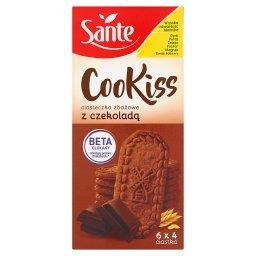 Cookiss Ciasteczka zbożowe z czekoladą 300 g