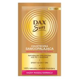 Dax Sun Chusteczka samoopalająca do twarzy i ciała d...