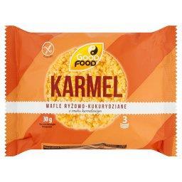 Wafle ryżowo-kukurydziane o smaku karmelowym  (3 szt...