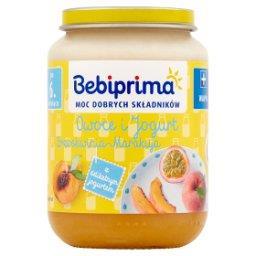 Owoce i jogurt brzoskwinia-marakuja po 6. miesiącu