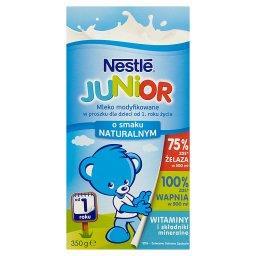 Junior Mleko modyfikowane w proszku dla dzieci od 1. roku życia o smaku naturalnym