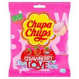 Strawberry Love Lizaki wielosmakowe 120 g (10 sztuk)