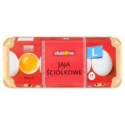 Jaja ściółkowe L 10 sztuk