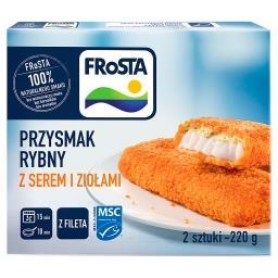 Przysmak rybny z fileta z serem i ziołami 220 g (2 s...
