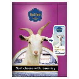 Ser kozi z dodatkiem rozmarynu w plastrach