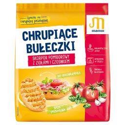Chrupiące bułeczki skorpor pomidorowy z ziołami i cz...