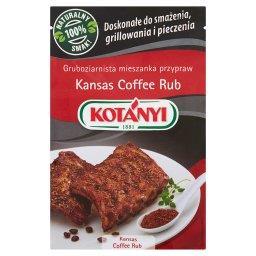 Kansas Coffee Rub Gruboziarnista mieszanka przypraw