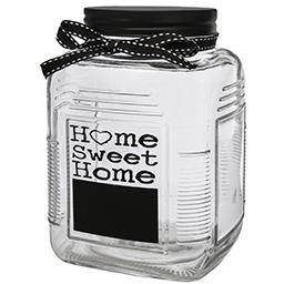 Szklany pojemnik do przechowywania żywności Home Swe...
