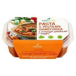 Pasta z pestkami słonecznika z suszonymi pomidorami ...