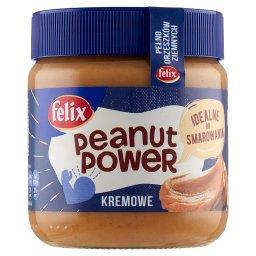 Peanut Power Kremowe Krem orzechowy