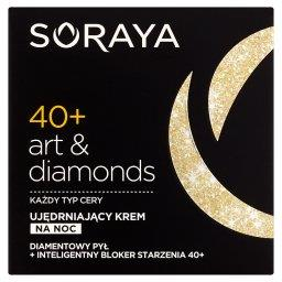 Art & diamonds 40+ Ujędrniający krem na noc