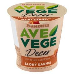 Ave Vege Deser na kremie kokosowym smak słony karmel