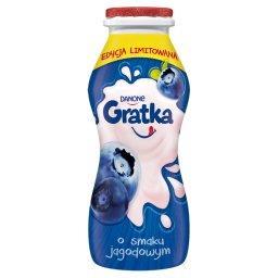 Gratka Produkt mleczny o smaku jagodowym
