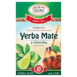 Herbatka Yerba Mate z limonką  (20 x 2 g)