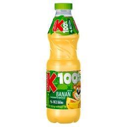 100% Sok jabłko banan brzoskwinia marchew