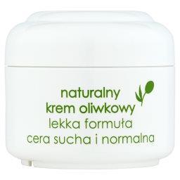 Naturalny krem oliwkowy lekka formuła cera sucha i n...