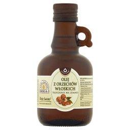 Olej z orzechów włoskich tłoczony na zimno