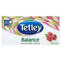 Balance Herbata Biała z Maliną aromatyzowana  (20 torebek)