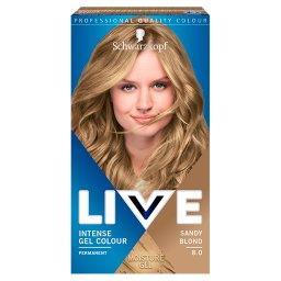 Live Farba do włosów Sandy Blond 8.0