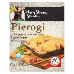 Pierogi z kapustą kwaszoną i grzybami