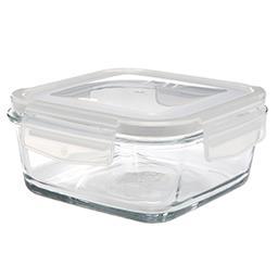Szklany pojemnik z pokrywką 600 ml