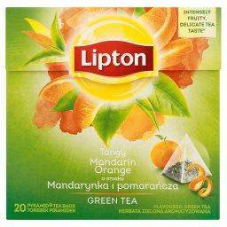 O smaku Mandarynka i pomarańcza Herbata zielona arom...