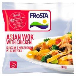 Makaron z kurczakiem po azjatycku