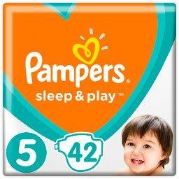 Sleep&Play, Rozmiar 5, 42 Pieluszek, 11–16kg