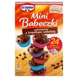 Mini Babeczki czekoladowe z kropelkami czekolady