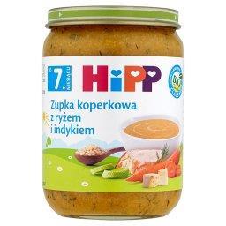BIO Zupka koperkowa z ryżem i indykiem po 7. miesiącu