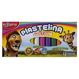 Inspiria Plastelina 12 kolorów