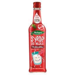 Suplement diety syrop do mleka truskawka
