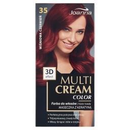 Multi Cream Color Farba do włosów wiśniowa czerwień ...