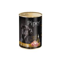 Mokra karma dla psa Piper Animals z sercami kurczaka i ryżem 400 g