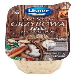 Smak Sezonu Grzybowa Sałatka ze smażoną cebulką