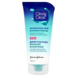 Głęboko oczyszczający kremowy żel do mycia twarzy