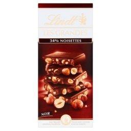 Les Grandes Szwajcarska czekolada deserowa z orzecha...