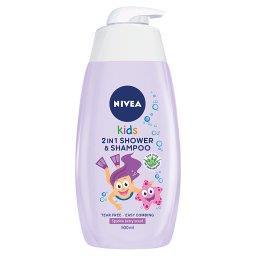 Kids Żel do mycia ciała 2w1 o zapachu owocowych żelk...