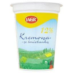 Kremowa ze śmietanką 12% Ukwaszona emulsja tłuszczow...