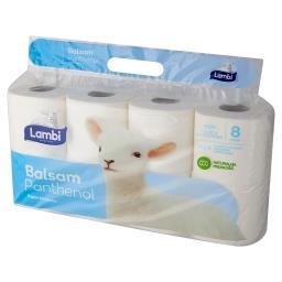 Balsam Panthenol Papier toaletowy 8 rolek